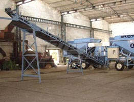 Mobile Concrete Batching Plant in Kenya | Concrete Batching Plant Manufacturers