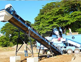 Mobile Concrete Batching Plant in Malawi